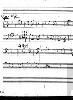 Queen's Delight from Ralph Vaughan Williams' collection in The Full English digital archive