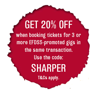 Sharper discount: book three shows and get 20% off (T&Cs apply)