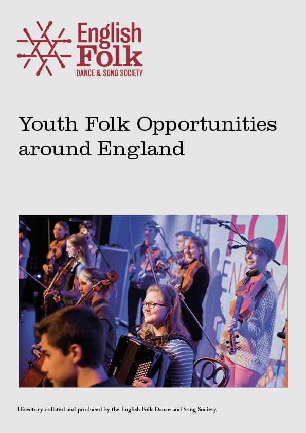 Youth Folk Opportunities: cover showing young players