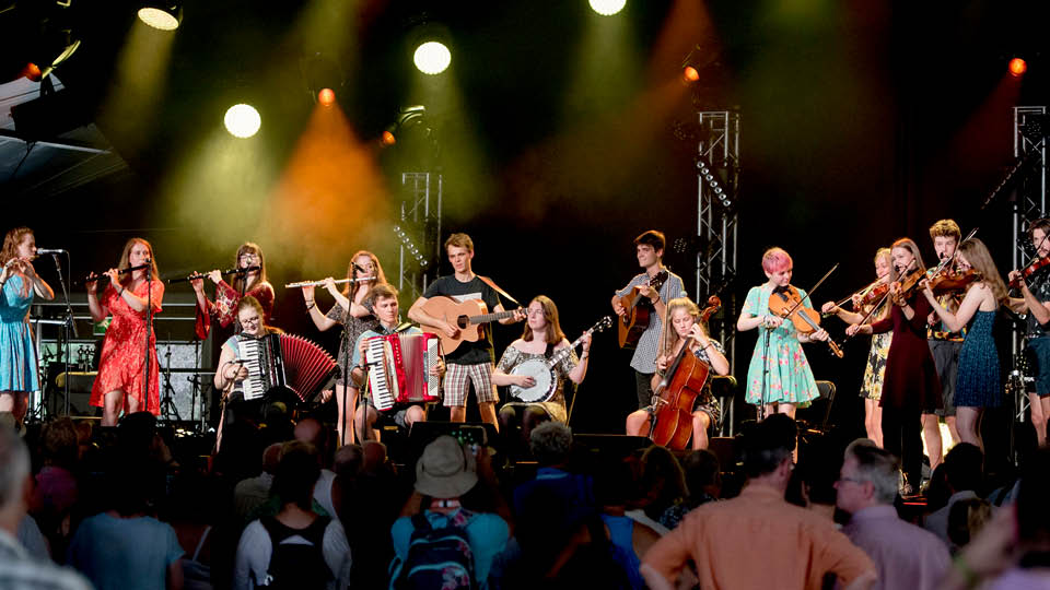 NYFE Cambridge Folk Festival onstage