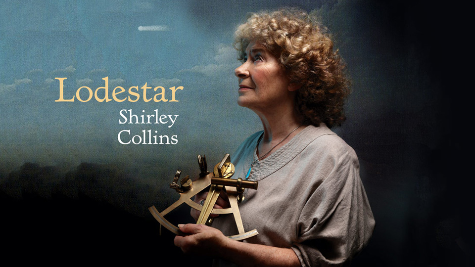 Shirley Collins - Lodestar recording promo image
